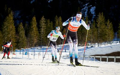 Nico Messinger und Robin Wunderle in Planica